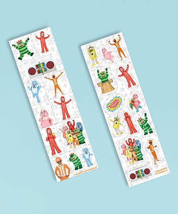 Yo Gabba Gabba! Sticker Strip Set