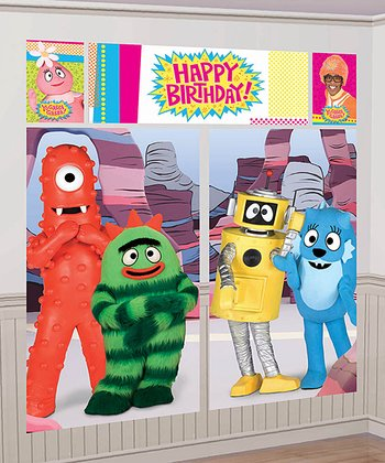 Yo Gabba Gabba! Wall Decoration Set