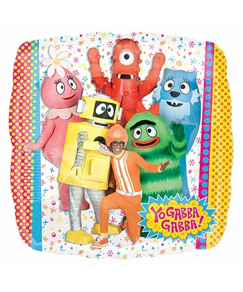 Yo Gabba Gabba! Foil Balloon - Set of Two