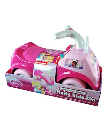 Pink Princess Activity Ride-On
