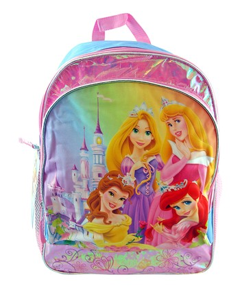 Pink & Blue Princesses Backpack