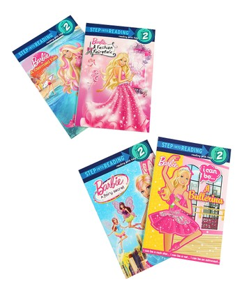 Barbie™ Step into Reading Level 2 Paperback Set