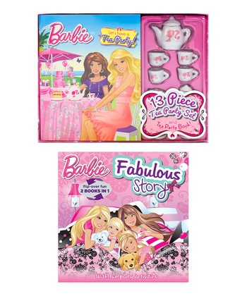 Barbie™ Tea Party Hardcover Bundle