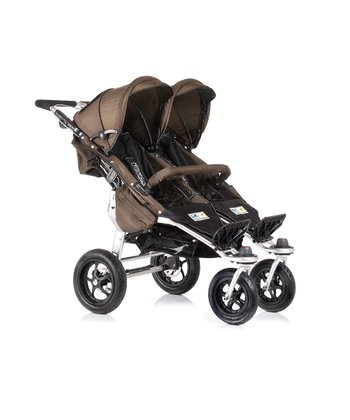 Chocolate Twinner Twist Duo Stroller