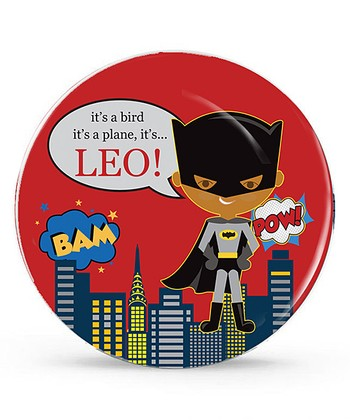 Medium Batman Personalized Plate