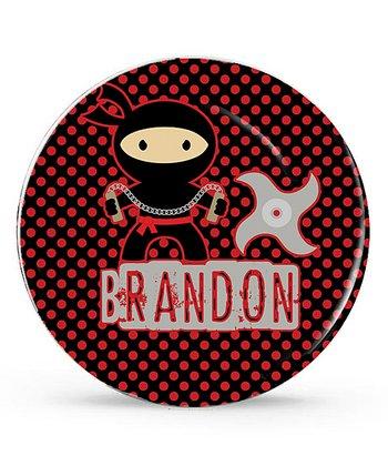 Ninja Warrior Personalized Plate