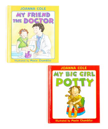 My Big Girl Potty & My Friend the Doctor Hardcover Set