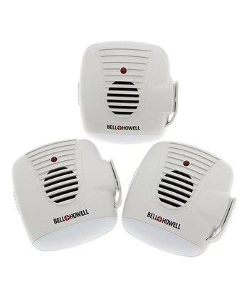 Ultrasonic Pest Control System - Set of Three