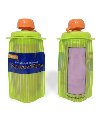 Squeez'Ems 6-Oz. Food Pouch - Set of Two
