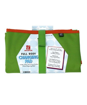 Green & Orange Full Body Changing Pad