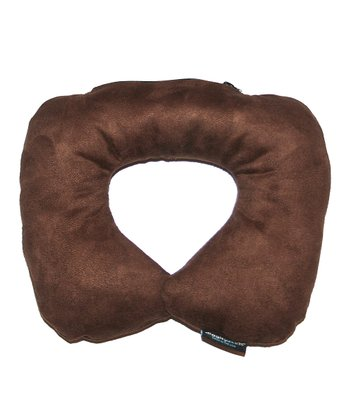 Chocolate Travel Pillow