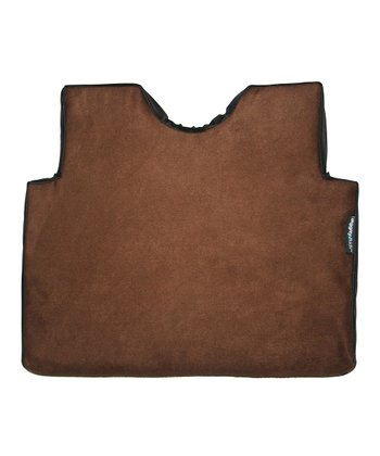 Chocolate Booster Seat Pad