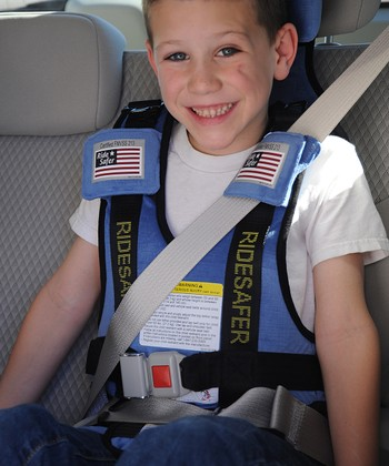 Blue Small RideSafer 3 Travel Vest