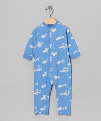 Blue Cloud Playsuit - Infant