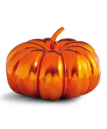Bright Orange Decorative Pumpkin