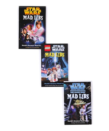 Star Wars Mad Lib Paperback Set