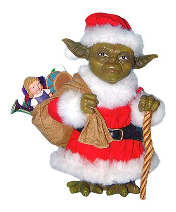 Yoda Santa Table Piece