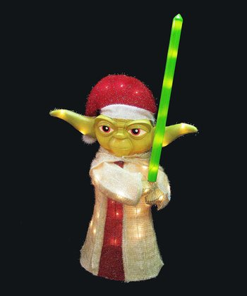 3-D Yoda Tinsel Standup Decoration