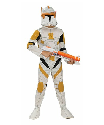 Off-White Clone Trooper Dress-Up Set - Kids