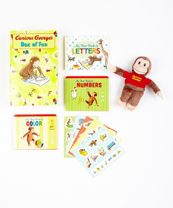 Curious George's Box of Fun Gift Set