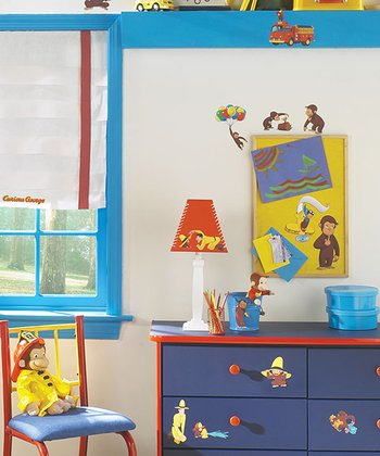 Curious George Peel & Stick Wall Decal Set