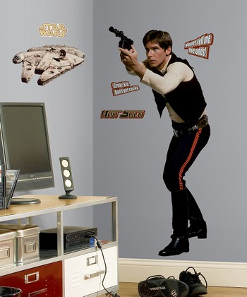 Star Wars Han Solo Peel & Stick Giant Wall Decal