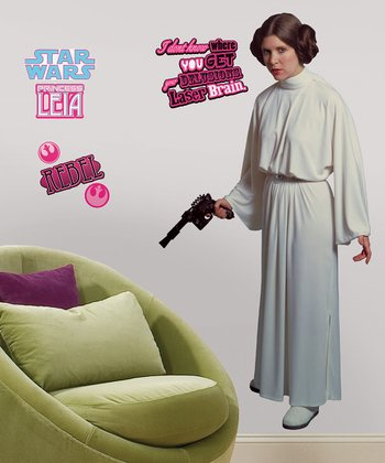 Star Wars Princess Leia Peel & Stick Giant Wall Decal