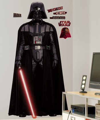 Star Wars Darth Vadar Peel & Stick Giant Wall Decal
