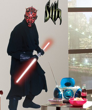 Star Wars Darth Maul Peel & Stick Giant Wall Decal