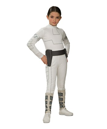 White Padme Amidala Dress-Up Set - Girls