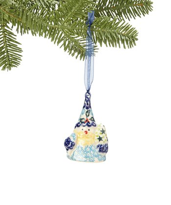 Blue Santa Claus Ornament