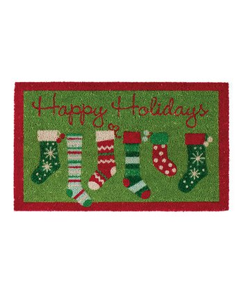 Stockings Doormat