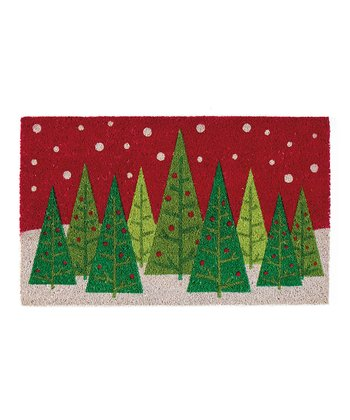 Winter Trees Doormat