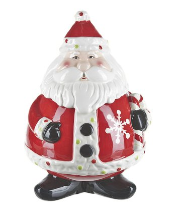 Sweet Santa Cookie Jar