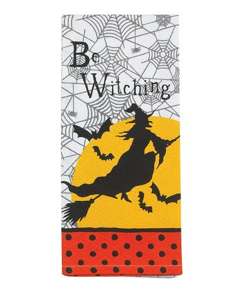 'Be Witching' Tea Towel - Set of Two