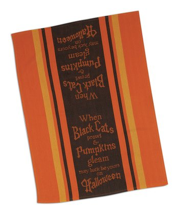 Pumpkin Tea Towel - Set of Two