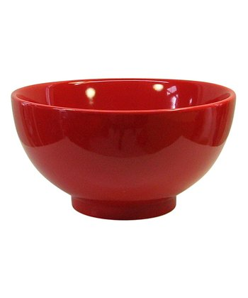 Red Soup & Cereal Bowl - Set of Four