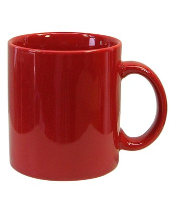 Red Mug - Set of Four