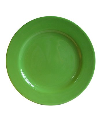 Green Apple Dinner Plate - Set of Four