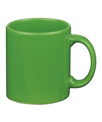 Green Apple Mug - Set of Four