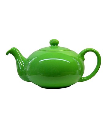 Green Apple Teapot