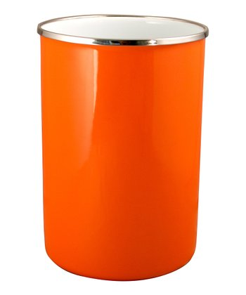 Orange Utensil Holder