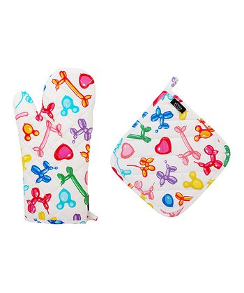 Balloonamals Oven Mitt & Pot Holder