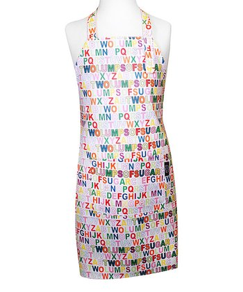 Alphabet Apron - Kids