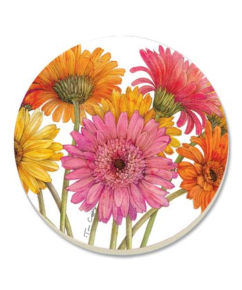Gerber Daisies Coaster - Set of Four