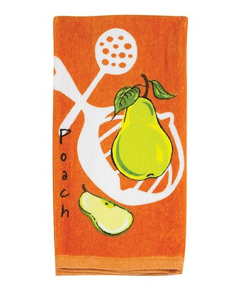 Pear Kitchen Towel - Set of Two