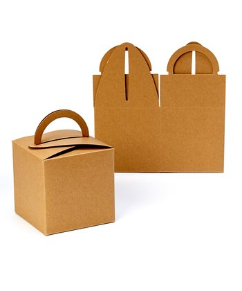 Kraft Take Out Box - Set of 10