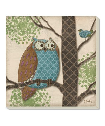 Fantasy Owl Coaster - Set of Four