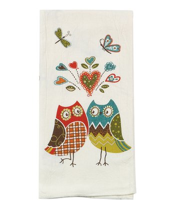 Owl Wonderful Kitchen Towel Set