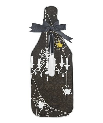 Spiders Cheese Board & Spreader Set